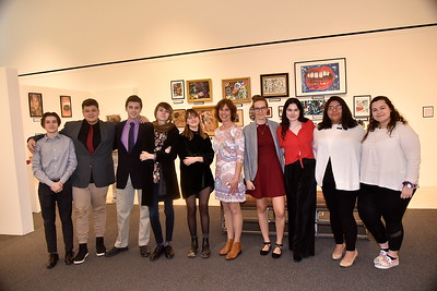 LTS IB Art Show At SVAC photos by Gary Baker