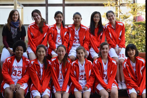 2014 Girls Basketball