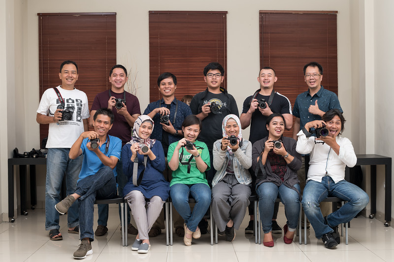 Kursus kilat dasar fotografi dan lighting 7 & 8 April 2018