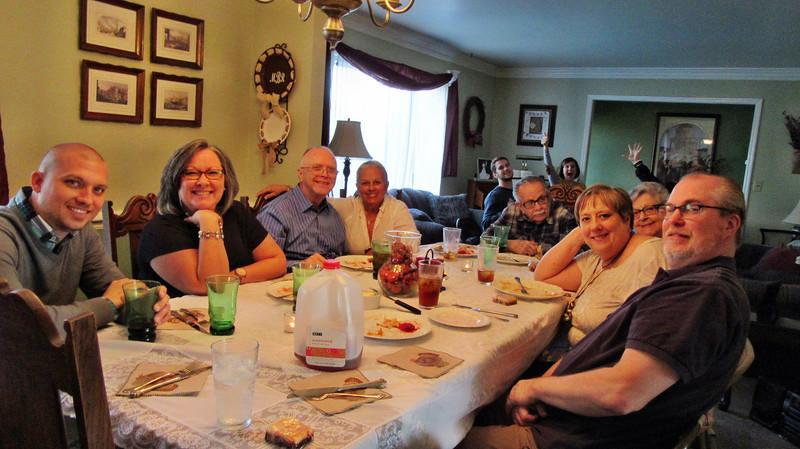 November 2015 Thanksgiving in Nashville with Bradley and Glenn Families