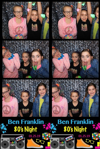"Ben Franklin ""80's Night 2019"""