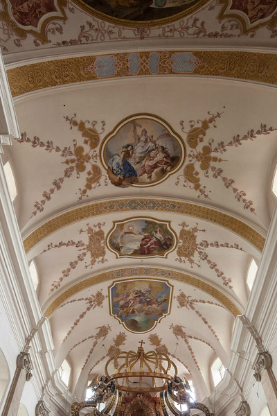 Ebersmunster Abbey Church Choir Vaults