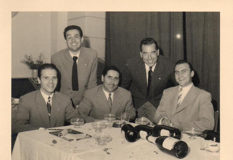 Alberto Costa, Gonçalves, Aires Marques, Rosendo e João Calado