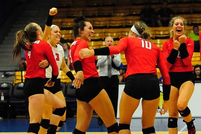 Volleyball vs. Morehead State - Aug. 25, 2017 (Thompson)
