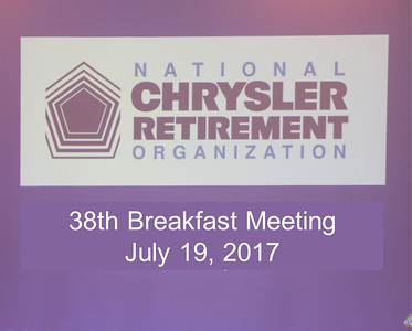 38th Breakfast Meeting - July 19, 2017