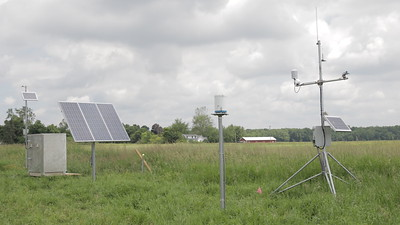 USGS Tile Sampling Project on Stoney Ridge Farms, Waldron MI