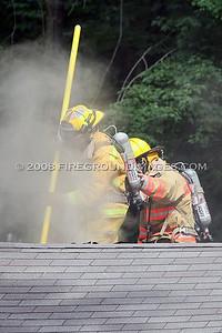 Grace Trail Fire (Orange, CT) 8/3/08