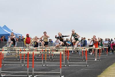 Kingsley Rodes Relay 100 meter Hurdles Girls