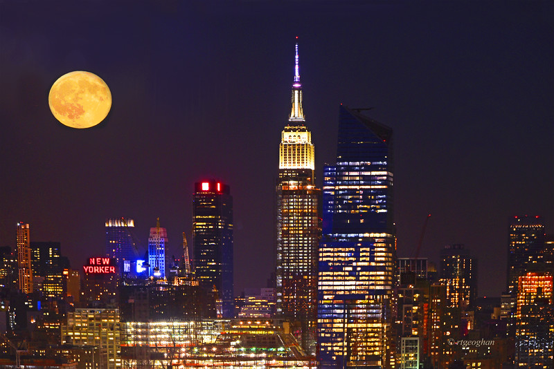 New York Full  Moon