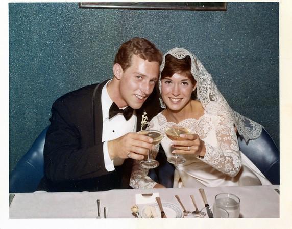 1968 Mom Dad Wedding