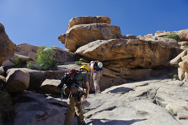 canyoneering Joshua Tree May 2010