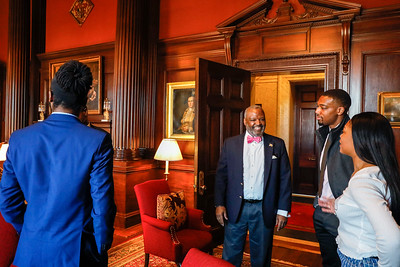 Rushern Baker Class at State House - March 28, 2019