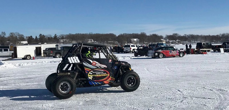 I'm seeing lots of UTVs racing on ice this winter.