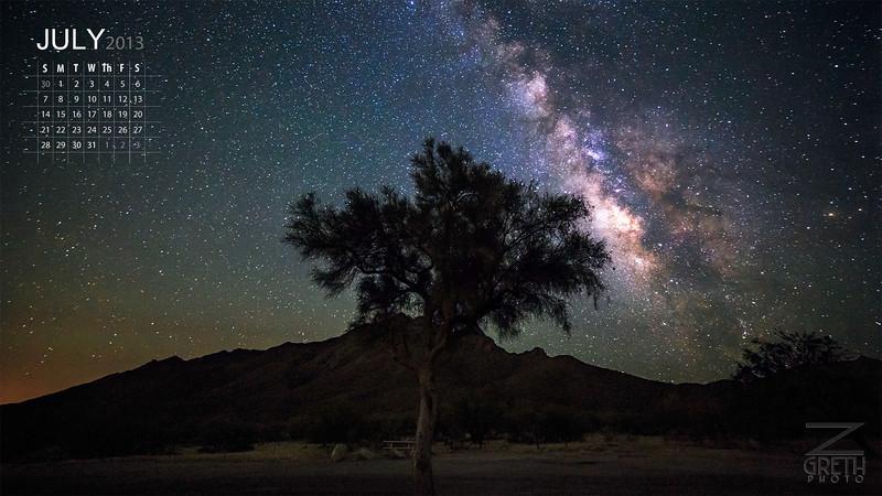 July - Kitt Peak Tree