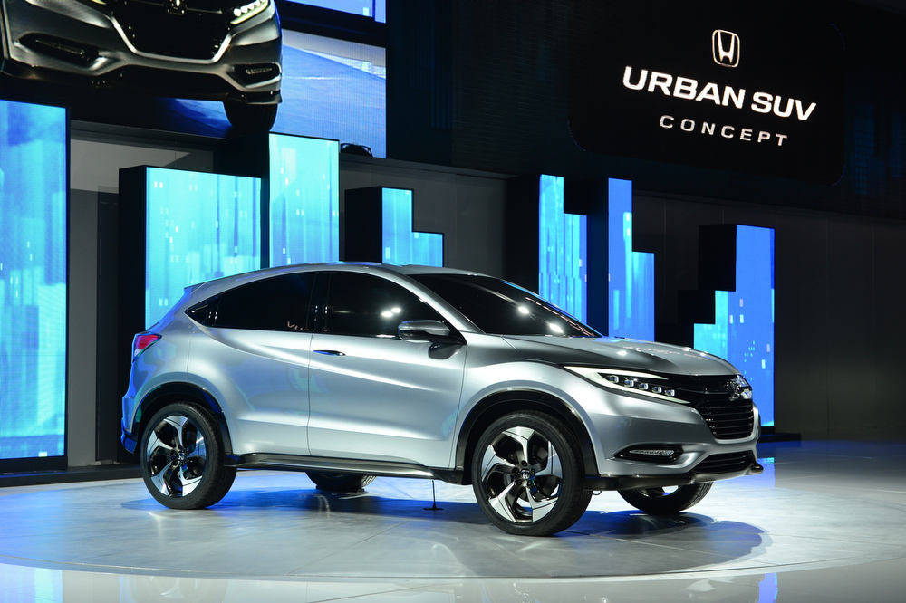 . The Honda Urban SUV concept car is introduced at the 2013 North American International Auto Show in Detroit, Michigan, on January 14, 2013.    AFP PHOTO/Stan HONDASTAN HONDA/AFP/Getty Images
