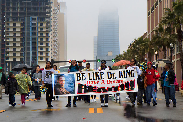 01/17/2011 - Martin Luther King Jr. Day Parade in Jacksonville
