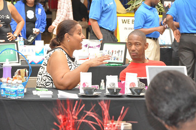 Iota Eta Zeta Health Fair @ South DeKalb Mall on 04/21/2012