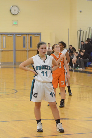 Girls JV Basketball January 17 vs Fallston