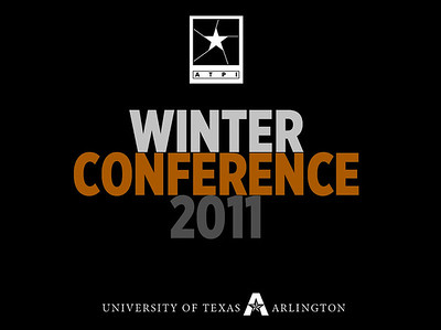 2011 Winter Conference