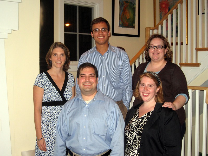 Five current and former presidents of the Virginia Young Democrats
