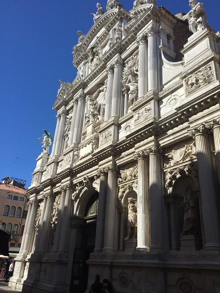 Chiesa di Santa Maria del Giglio. Venice
