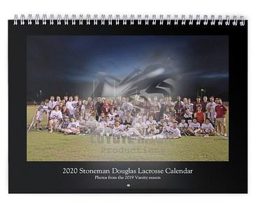 2020 Stoneman Douglas Lacrosse Calendar