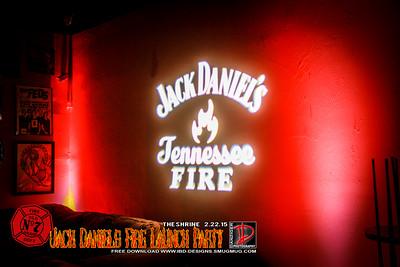 Jack Daniel's Fire Launch Party 2-22-15