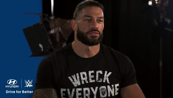 Roman Reigns  - Screencaps WWE & Hyundai Commercial