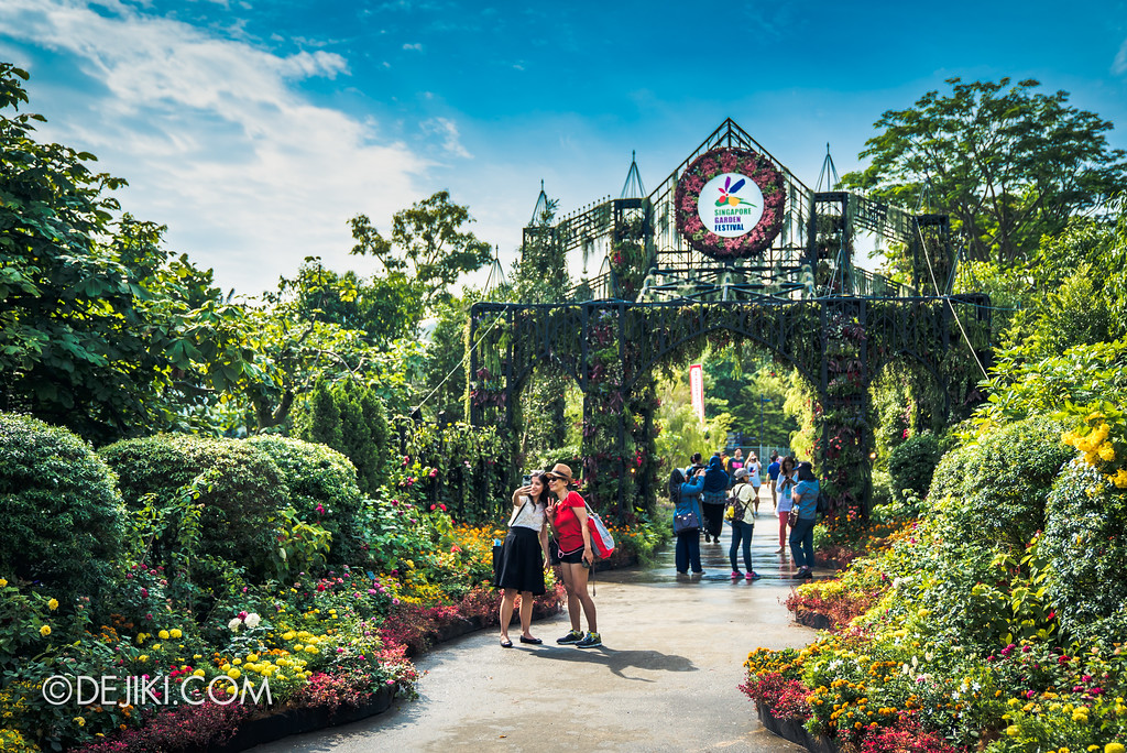 Singapore Garden Festival 2018 - Meadow Bridge entrance