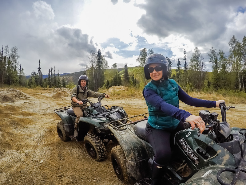 Chena Hot Springs Resort ATV Alaska