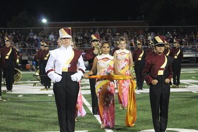 Devine HS Marching Band @ Central  Catholic Sept 22