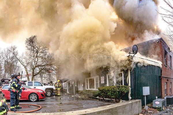 4 Alarm Structure Fire - Market Street - Village of Wappingers FD - 2/25/2020