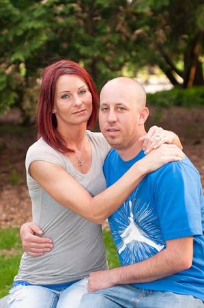 Dan and Stephanie