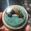 Vintage Mini Plume Pin 21