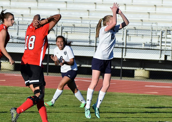 Varsity Girls vs Sonoraville 4-12-16