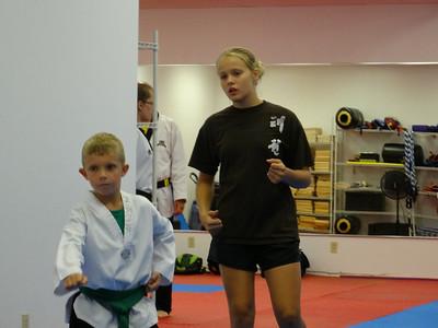 Taekwondo - Yorks 8/2014 Testing
