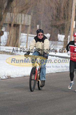 10K at 6.1 Mile Mark - 2013 Snowflake Run/Walk