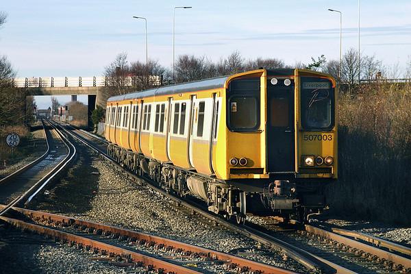 4th December 2004: Merseyrail