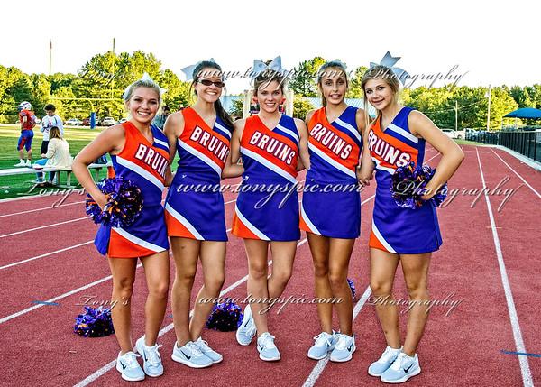 JV Cheerleaders @ SE Game 7 Sept 2017