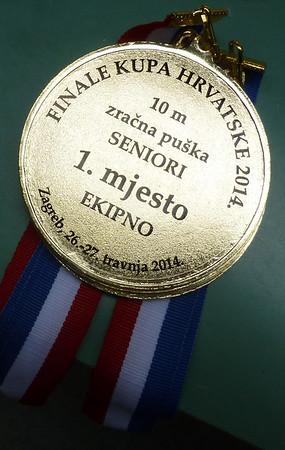 Zagreb, Finale Kupa Hrvatske 2014.