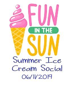 SUMMER ICE CREAM SOCIAL