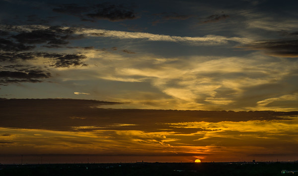 2017-10-04 Sunset Hurst Texas