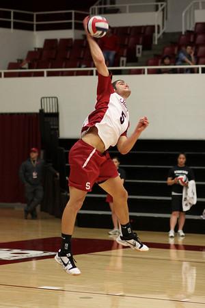 2010-04-09 Men's NCAA Volleyball - Pepperdine at Stanford