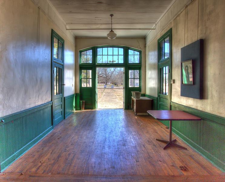 MCHS - Front hall and door.