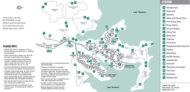Lake Tawakoni State Park