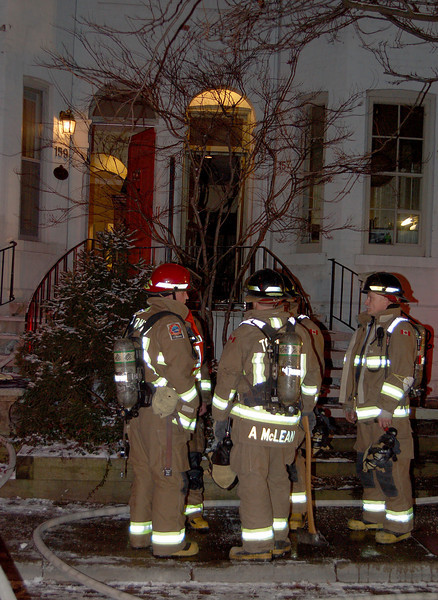 January 14, 2007 - Working Fire - 159 Collier Street