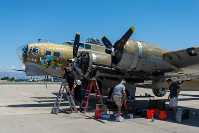 Collings Foundation Aircraft at Moffett Field 2019