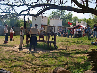 Cossack Camp Weapons Demonstration