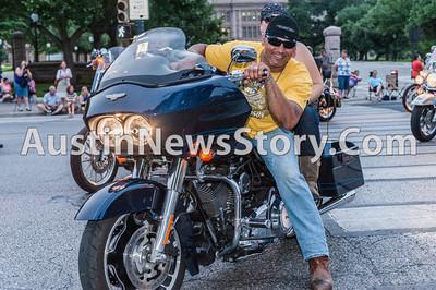 2013 Republic of Texas Biker Rally Parade 6-14-2013