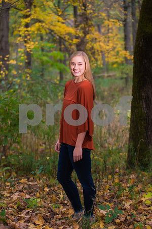 Maddie G Senior photos Oct 2017